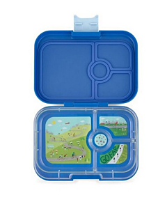 Yumbox 4 rum Panino / True Blue