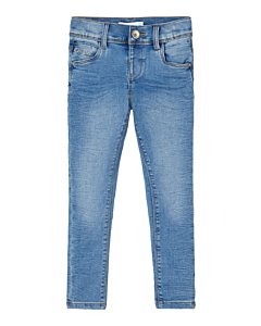 name it POLLY CILS - økologisk / Medium blue denim