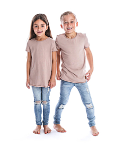 Beau Hudson T-shirt Edge  / Blush