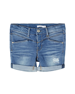 name it SAlli TAGS denim shorts / Meduim blue denim