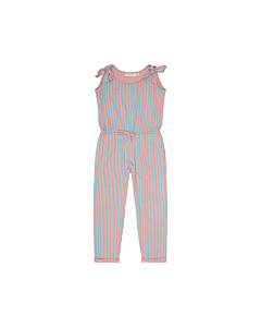 Soft Gallery jumpsuit AOP lines / Bridal Rose