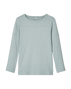 name it TAROS bluse / Silver Blue