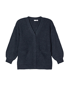 name it TENNAH strik cardigan / Dark sapphire