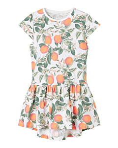 name it VIGGA kjole ss21 / Oranges