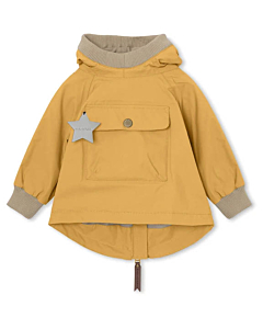 Miniature Baby Vito Fleece Anorak / waxed honey