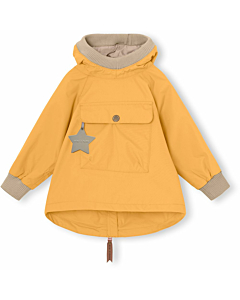 Miniature Vito anorak / Waxed honey