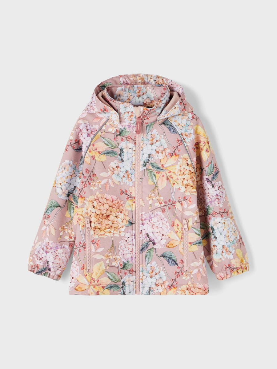 Name It ALFA winther flower softshell / Pale Mauve
